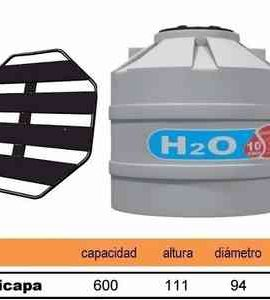 TANQUE TRICAPA H2O 600 LT
